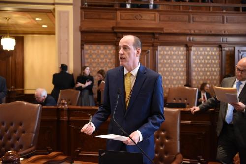 Senator Looks To Ease Burden For >> News